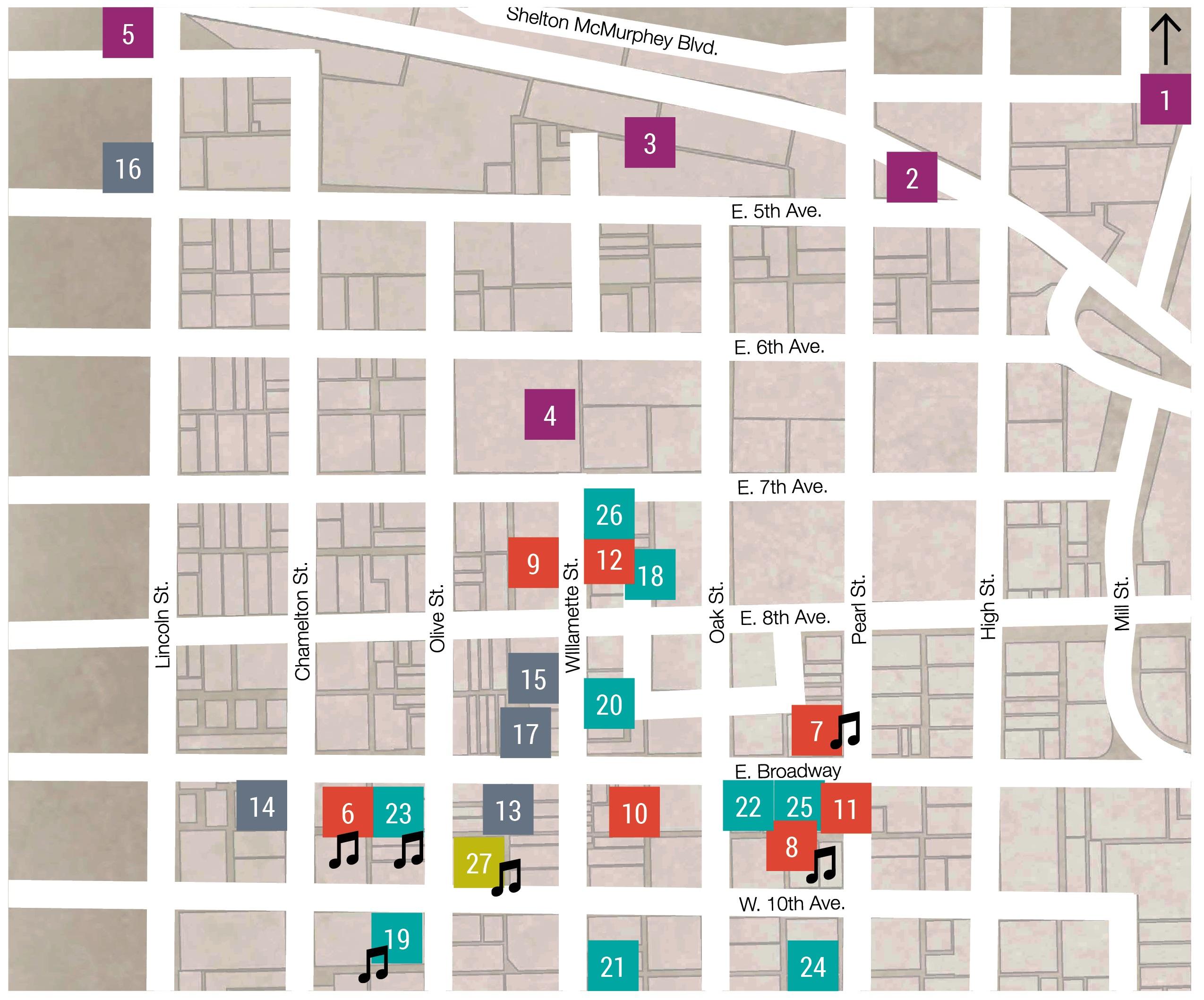 Feb 2015 ArtWalk Map