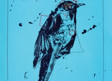 Rick Bartow, Crow Shadow, Jacobs Gallery