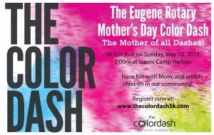 Color Dash Postcard
