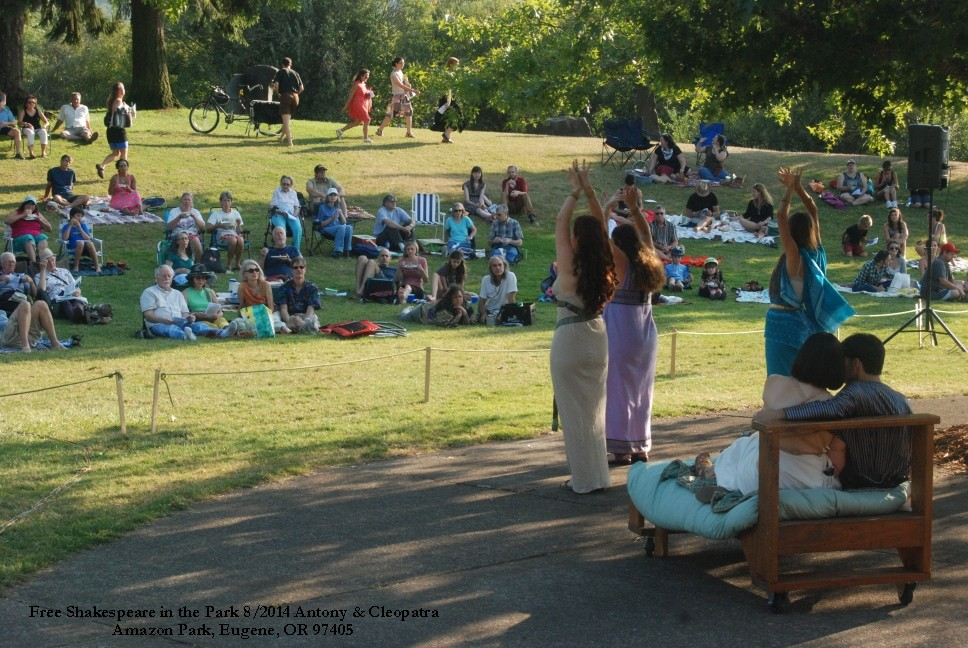 Free Shakespeare in the Park 2015-2016 CAG Recipient